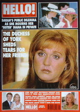 <!--1997-10-11-->Hello! magazine - The Duchess of York cover (11 October 19