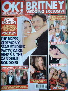 <!--2004-10-05-->OK! magazine - Britney Spears and Kevin Federline wedding