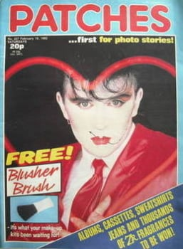Patches magazine - 19 February 1983 - Steve Strange cover