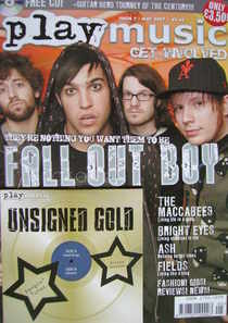 PlayMusic magazine - Fall Out Boy cover (May 2007 - Issue 7)