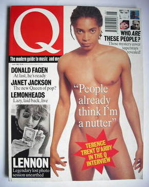 <!--1993-06-->Q magazine - Terence Trent D'Arby cover (June 1993)
