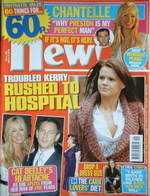 New magazine - 6 March 2006 - Kerry Katona cover