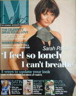 <!--2004-05-16-->Celebs magazine - Sarah Parish cover (16 May 2004)