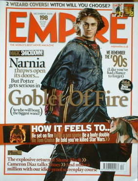 <!--2005-12-->Empire magazine - Harry Potter cover (December 2005 - Issue 1