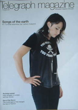 <!--2007-08-18-->Telegraph magazine - KT Tunstall cover (18 August 2007)