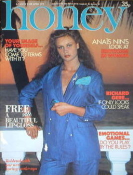 Honey magazine - April 1979