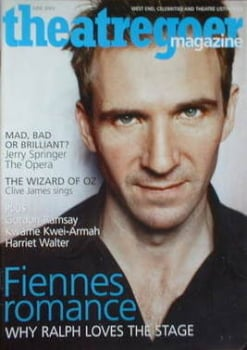 Theatregoer magazine - Ralph Fiennes cover (June 2003)
