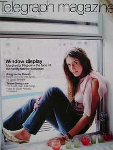 <!--2006-04-08-->Telegraph magazine - Margherita Missoni cover (8 April 200