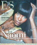 <!--2004-02-20-->Evening Standard magazine - Naomi Campbell cover (20 Febru
