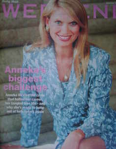 Weekend magazine - Anneka Rice cover (24 June 2006)
