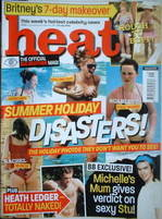 <!--2004-07-17-->Heat magazine - Summer Holiday Disasters cover (17-23 July