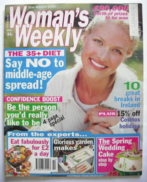 <!--1998-03-31-->Woman's Weekly magazine (31 March 1998)