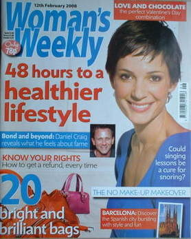 <!--2008-02-12-->Woman's Weekly magazine (12 February 2008 - British Editio