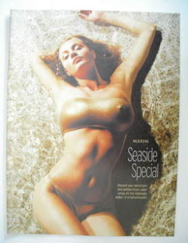 MAXIM supplement - Seaside Special (Hollyoaks Girls)