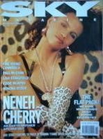<!--1989-11-->Sky magazine - Neneh Cherry cover (November 1989)