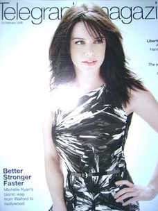 <!--2008-02-23-->Telegraph magazine - Michelle Ryan cover (23 February 2008