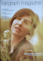 <!--2008-07-05-->Telegraph magazine - Sharleen Spiteri cover (5 July 2008)
