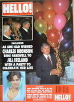 <!--1990-06-02-->Hello! magazine - Charles Bronson cover (2 June 1990 - Issue 105)