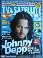 TV&Satellite Week magazine - Johnny Depp cover (11-17 December 2004)