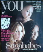 <!--2006-10-29-->You magazine - Sugababes cover (29 October 2006)