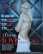 Evening Standard magazine - Claudia Schiffer cover (21 November 2003)