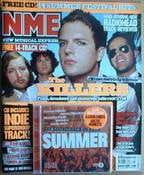 <!--2005-09-24-->NME magazine - The Killers cover (24 September 2005)