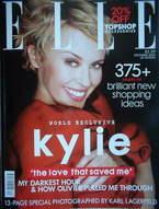 <!--2006-12-->British Elle magazine - December 2006 - Kylie Minogue cover