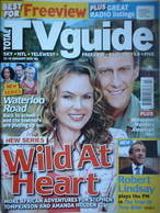 Total TV Guide magazine - Amanda Holden & Stephen Tompkinson cover (13-19 January 2007)