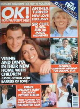 OK! magazine - Vinnie Jones cover (30 April 1999 - Issue 159)