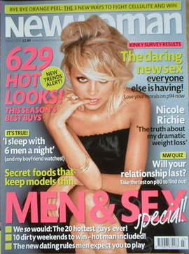 New Woman magazine - Nicole Richie cover (March 2006)