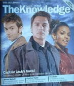 The Knowledge magazine - 16-22 June 2007 - David Tennant, John Barrowman & Freema Agyeman cover