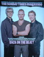 <!--2007-03-04-->The Sunday Times magazine - The Police cover (4 March 2007