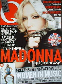 <!--2008-05-->Q magazine - Madonna cover (May 2008)