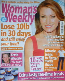 <!--2008-08-26-->Woman's Weekly magazine (26 August 2008 - Jane Seymour cov