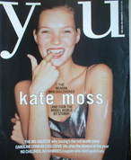 <!--1997-08-31-->You magazine - Kate Moss cover (31 August 1997)