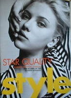 <!--2004-03-21-->Style magazine - Scarlett Johansson cover (21 March 2004)