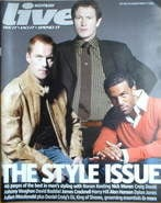 Live magazine - Ronan Keating, Nick Moran, Craig David cover (12 March 2006)