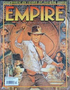 <!--2006-10-->Empire magazine - Indiana Jones cover (October 2006 - Issue 2