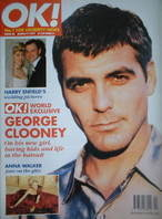 <!--1997-03-09-->OK! magazine - George Clooney cover (9 March 1997 - Issue
