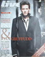 <!--2007-03-18-->Live magazine - Ioan Gruffudd cover (18 March 2007)