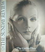 The Sunday Review magazine - Greta Garbo cover (13 November 2005)