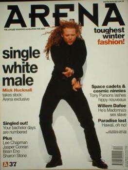 Arena magazine - December 1992/January 1993 - Mick Hucknall cover