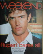 <!--2007-10-13-->Weekend magazine - Rupert Everett cover (13 October 2007)