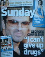 <!--2007-02-25-->Sunday magazine - 25 February 2007 - George Michael cover