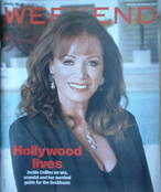 Weekend magazine - Jackie Collins cover (3 February 2007)