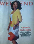 <!--2006-02-18-->Weekend magazine - Oprah Winfrey cover (18 February 2006)