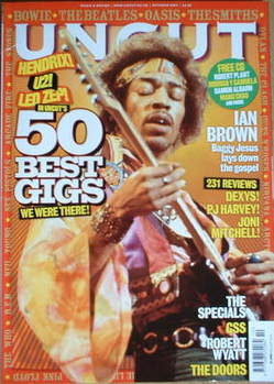 Uncut magazine - Jimi Hendrix cover (October 2007)