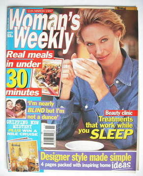 <!--1997-03-11-->Woman's Weekly magazine (11 March 1997)