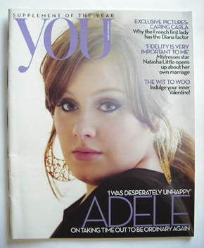 <!--2009-02-08-->You magazine - Adele cover (8 February 2009)