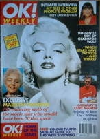 <!--1996-06-02-->OK! magazine - Marilyn Monroe cover (2 June 1996 - Issue 11)
